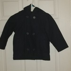 Old Navy Toddler boy hooded peacoat
